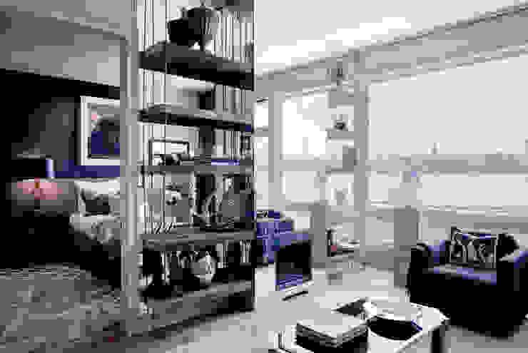 Living Room - The Pearl Modern Living Room by Joe Ginsberg Design Modern
