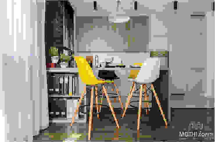 Кухня в скандинавском стиле от MOTHI.form Скандинавский Керамика
