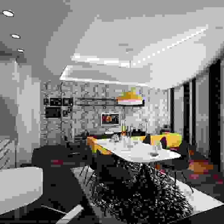 yemek odası dekorasyonu Modern Yemek Odası ML MIMARLIK VE DEKORASYON Modern