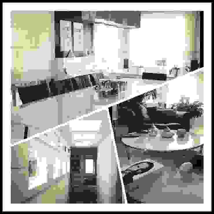 Ev İç Mimari Modern Yemek Odası ML MIMARLIK VE DEKORASYON Modern