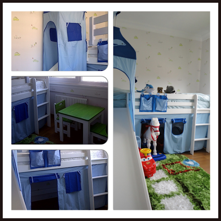 çocuk odası dekorasyonu Modern Yemek Odası ML MIMARLIK VE DEKORASYON Modern