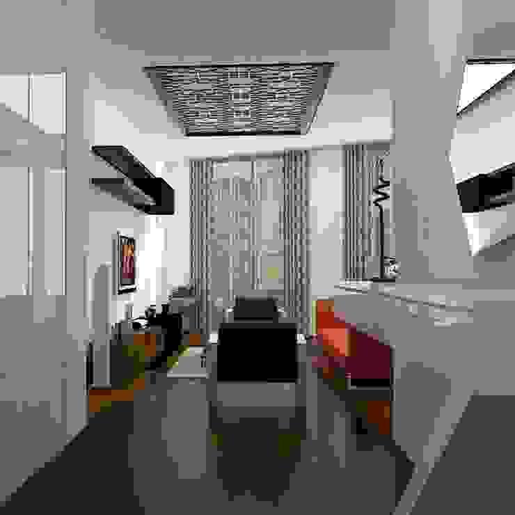 Ev İç Mimari Modern Koridor, Hol & Merdivenler ML MIMARLIK VE DEKORASYON Modern