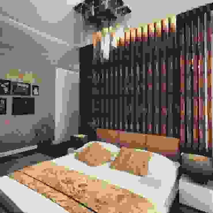 Yatak odası dekorasyonu Modern Yatak Odası ML MIMARLIK VE DEKORASYON Modern