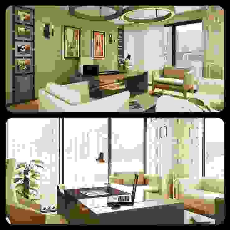 Ev İç Mimari Modern Oturma Odası ML MIMARLIK VE DEKORASYON Modern