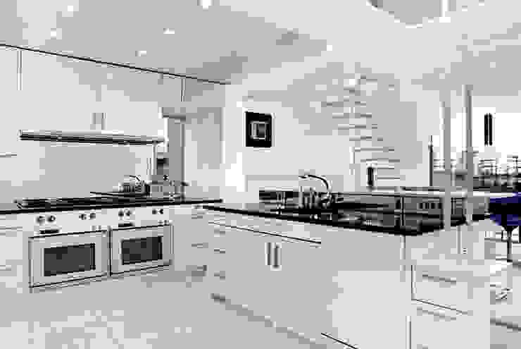 Kitchen - Historic Preservation - Paul Rudolph Estate Modern Kitchen by Joe Ginsberg Design Modern