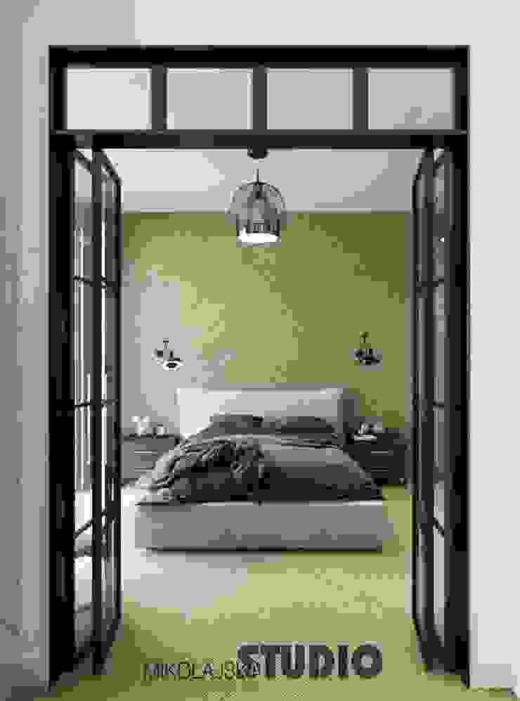 Modern Bedroom by MIKOLAJSKAstudio Modern