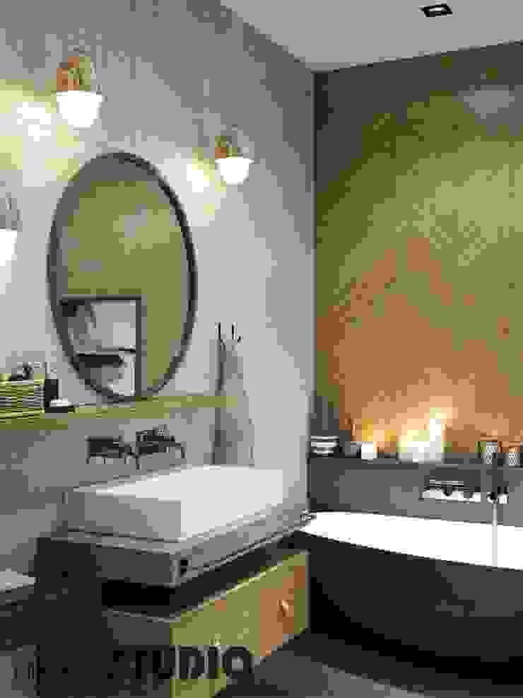 Modern Bathroom by MIKOLAJSKAstudio Modern
