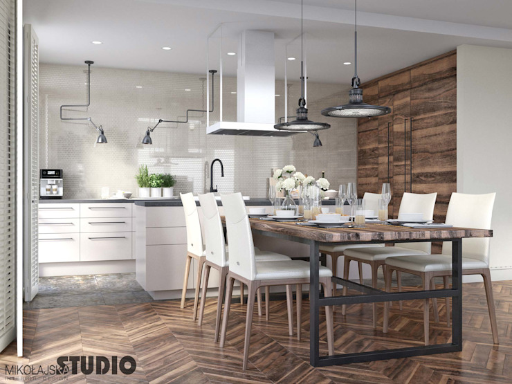 Modern Kitchen by MIKOLAJSKAstudio Modern