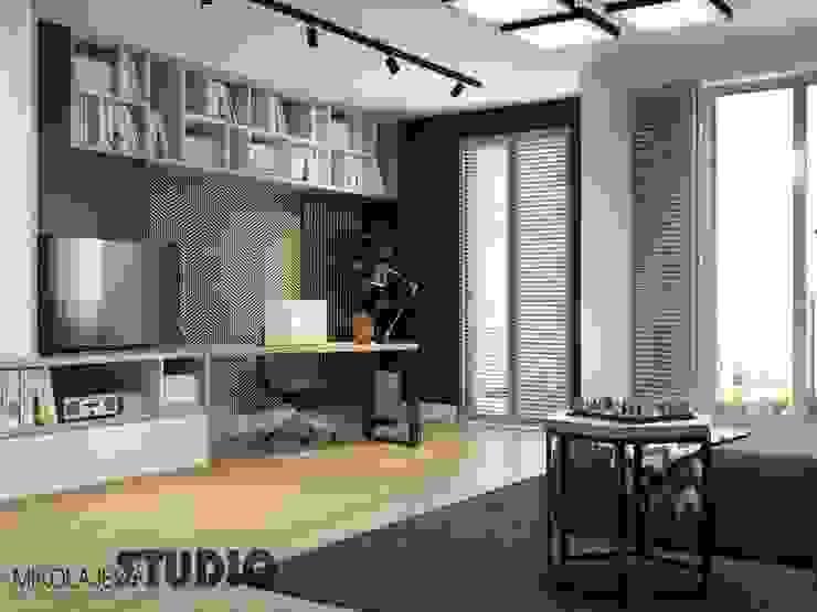 Modern Living Room by MIKOLAJSKAstudio Modern