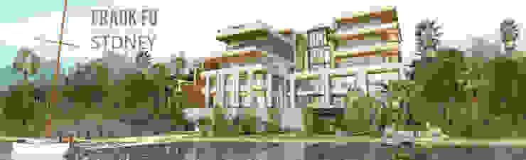 Beach House 現代房屋設計點子、靈感 & 圖片 根據 中孚 設計 / FRANKFU INERIOR DESIGN 現代風