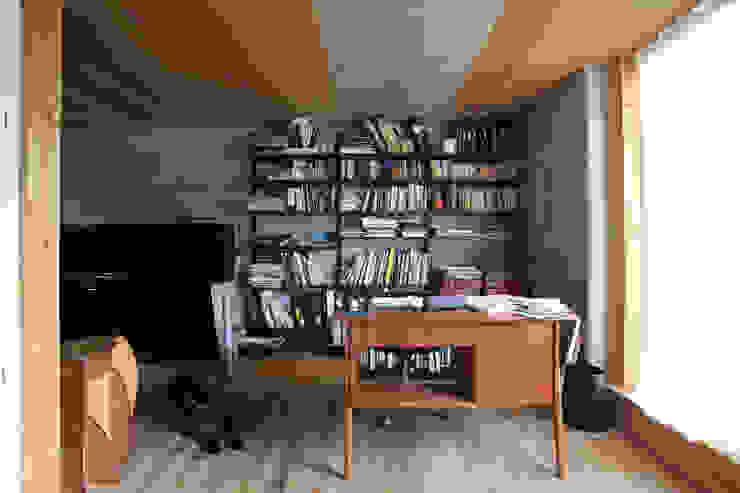 すわ製作所 Eclectic style study/office