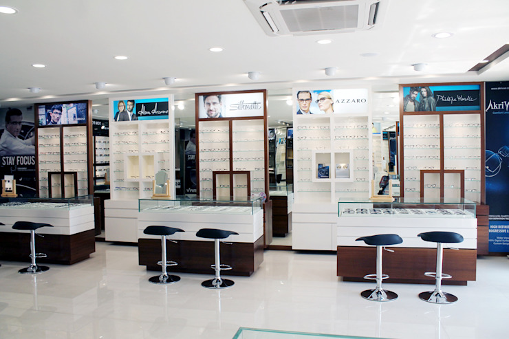 Eyewear Section by ServiceBELL Solutions PVT Ltd Classic Plywood