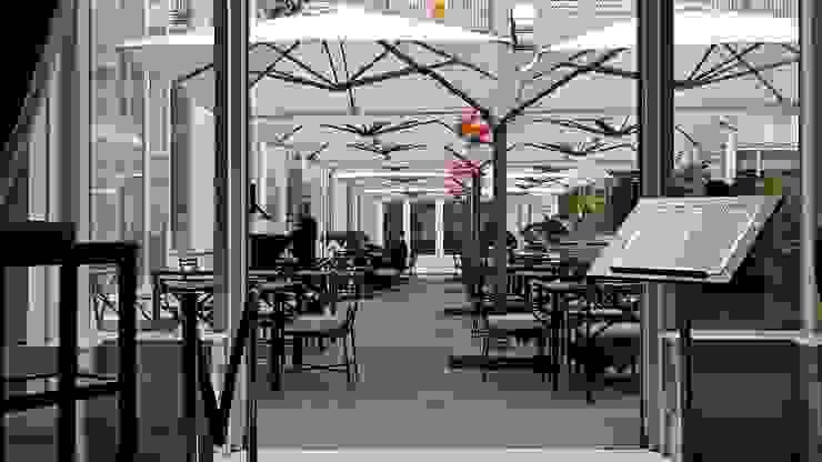 Gastronomie moderne par Solero Parasols Moderne Aluminium/Zinc