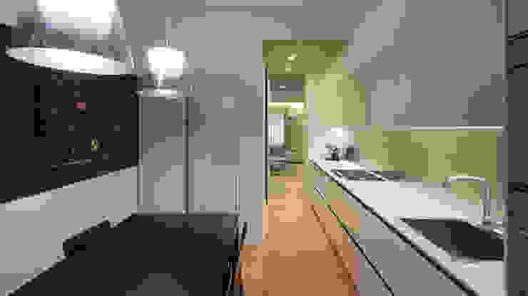 現代廚房設計點子、靈感&圖片 根據 Archifacturing 現代風