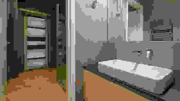 現代浴室設計點子、靈感&圖片 根據 Archifacturing 現代風 陶器