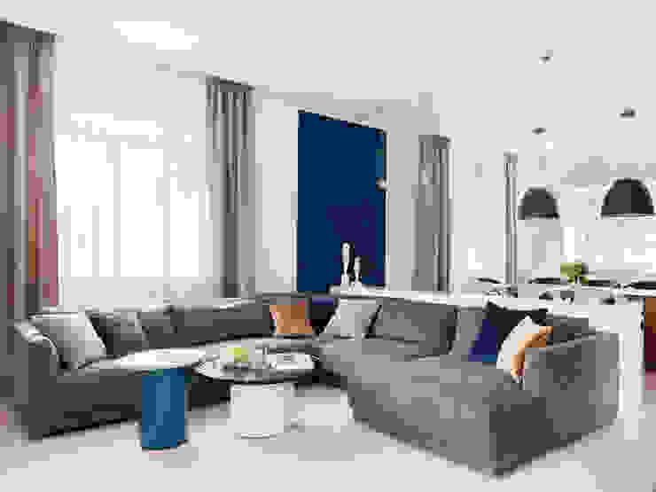 Living room Telnova Julia Modern living room Glass Blue