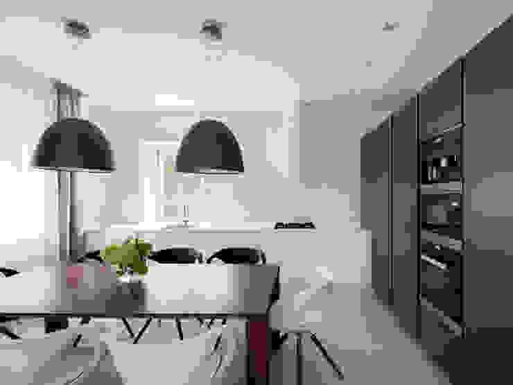 Kitchen Telnova Julia Modern kitchen Wood Black
