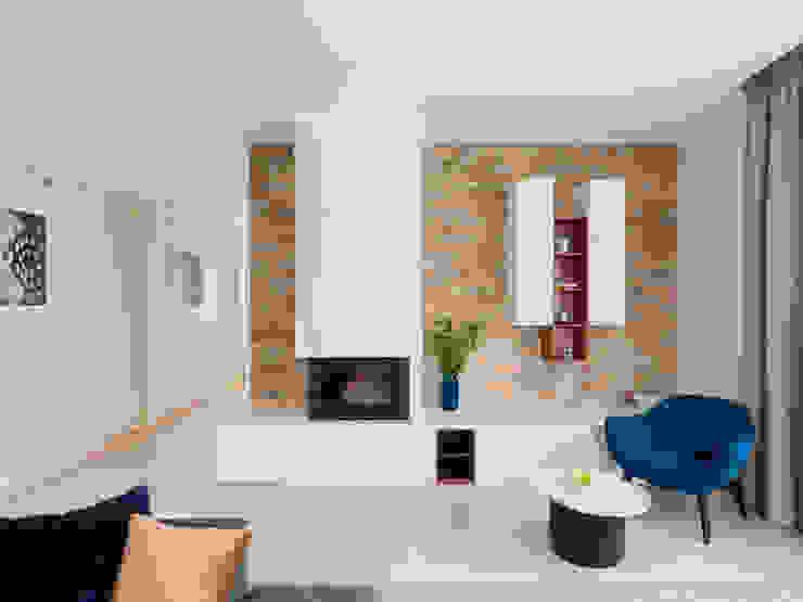 Living room Telnova Julia Modern living room Stone Beige