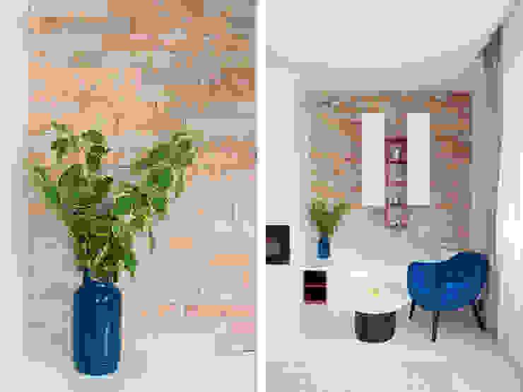 Living room Telnova Julia Modern living room Stone Blue