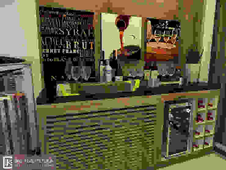 Bodegas de vino de estilo moderno de CKO ARQUITETURA Moderno