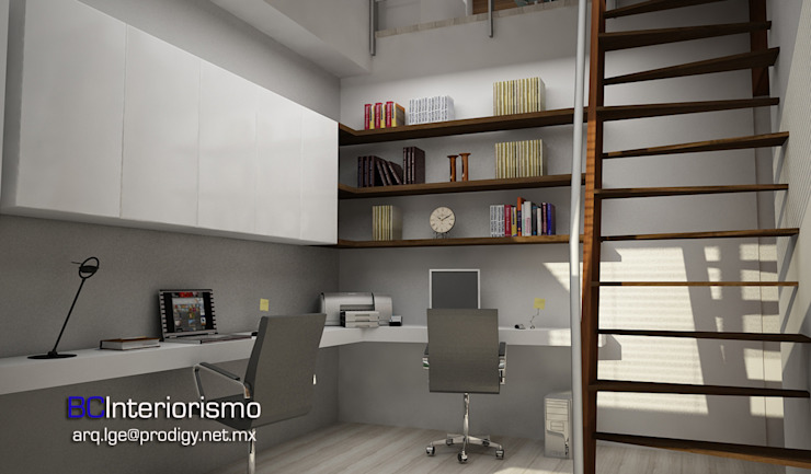 Modern Study Room and Home Office by homify Modern Wood Wood effect