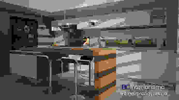 Modern Kitchen by homify Modern MDF