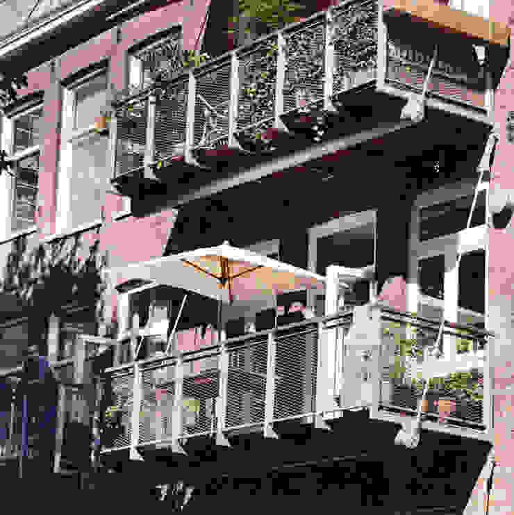 Balkons Industriële balkons, veranda's en terrassen van Architectenburo Holtrop Industrieel