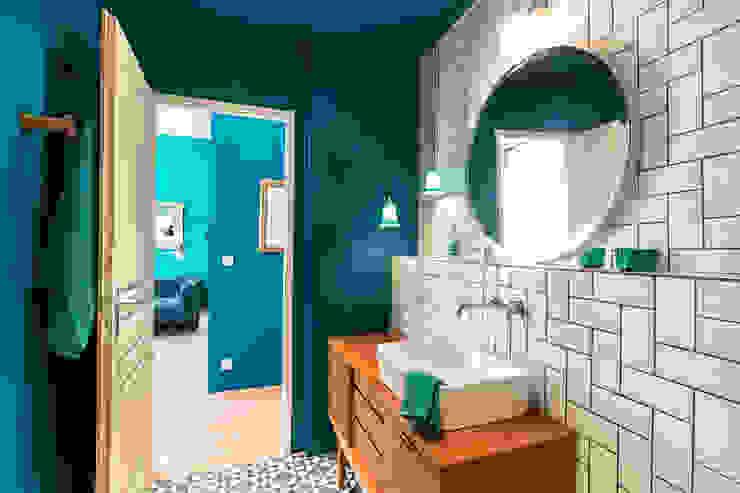 Eclectische badkamers van Insides Eclectisch