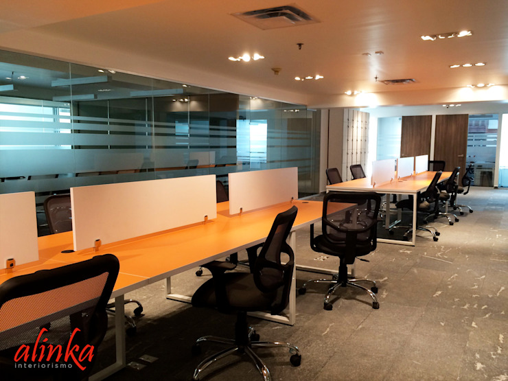 Oficinas en Polanco de Alinka Interiorismo Moderno