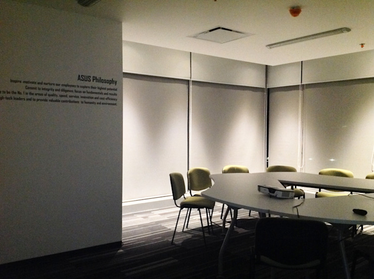 Oficinas en Av. Insurgentes Sur de Alinka Interiorismo Moderno