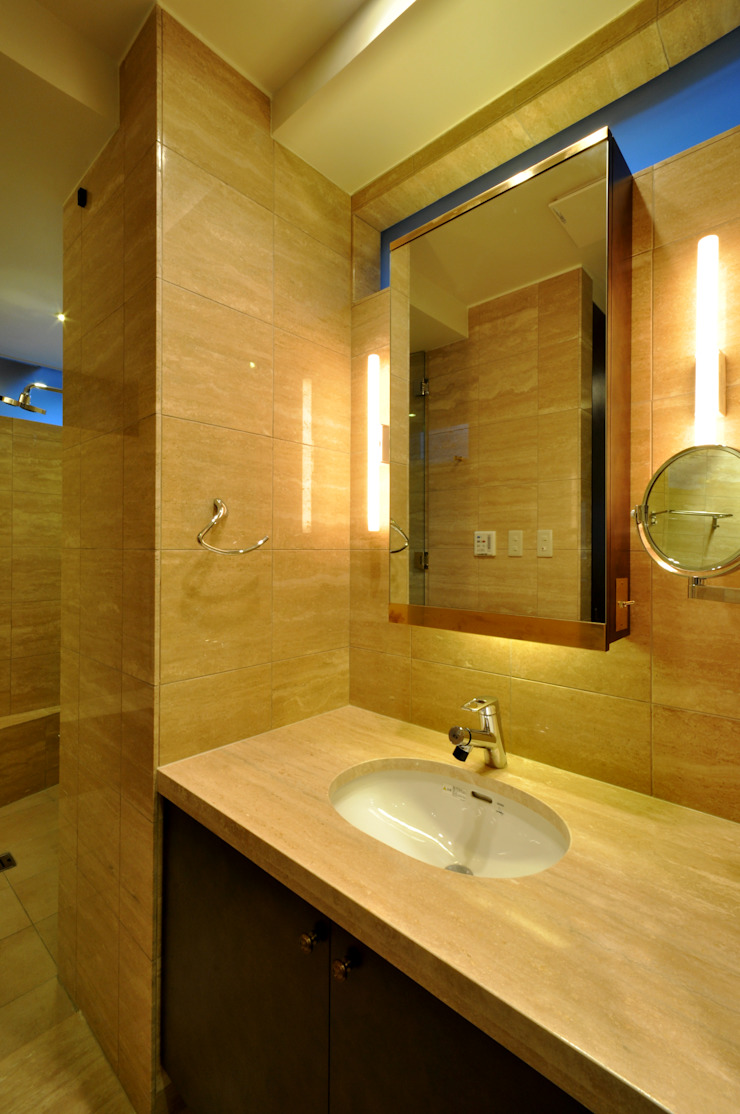 Eclectic style bathroom by 門一級建築士事務所 Eclectic