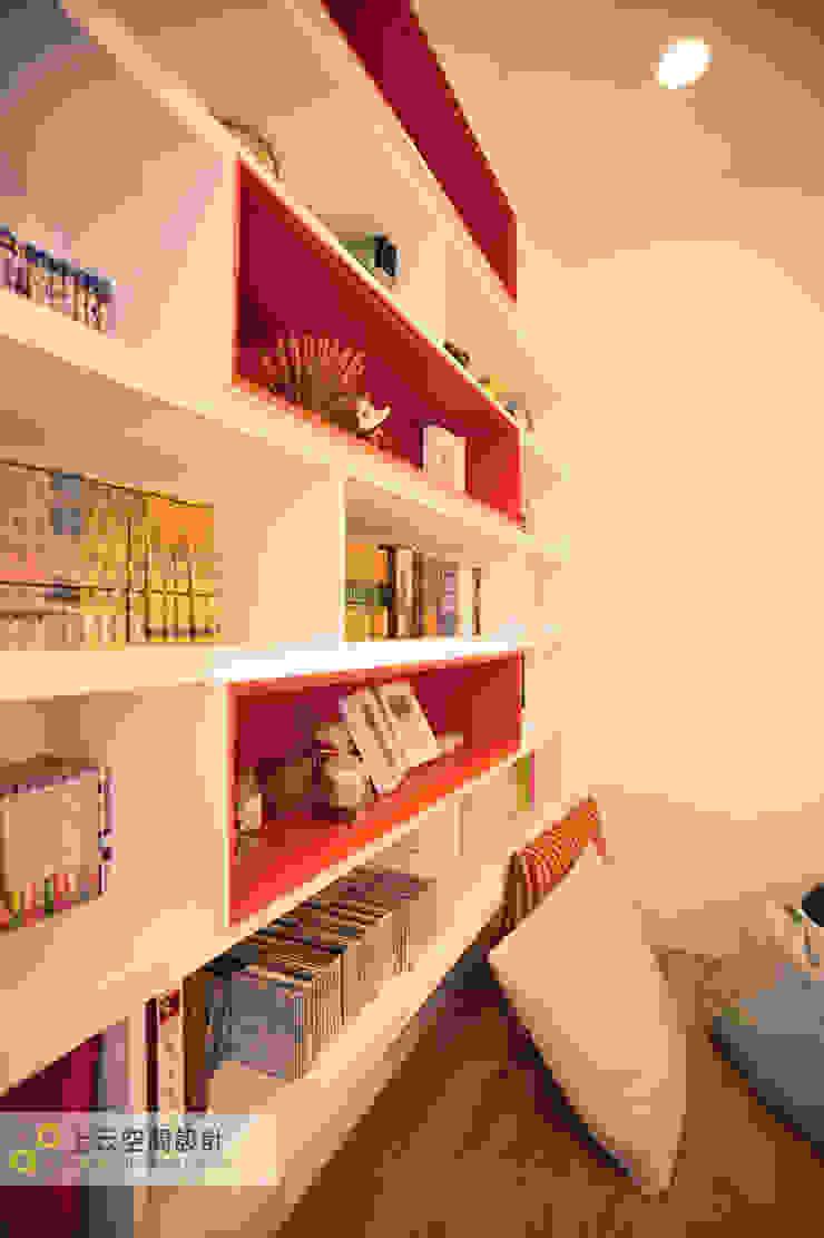 Estudios y bibliotecas de estilo escandinavo de 上云空間設計 Escandinavo