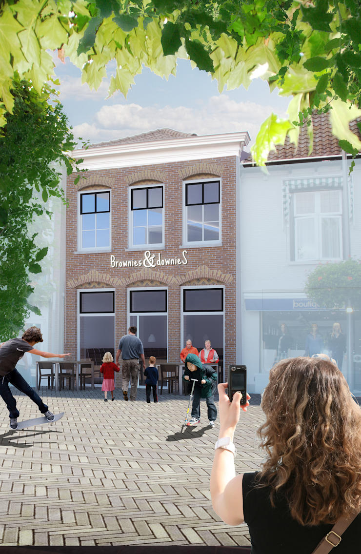 Modern offices & stores by halma-architecten Modern