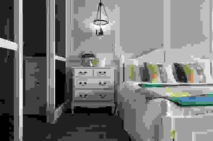 用光譜寫的美式鄉村風 辰林設計實業有限公司 臥室 Turquoise