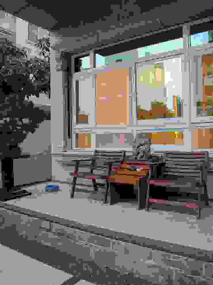 台南(陳公館)新建住宅 現代房屋設計點子、靈感 & 圖片 根據 三月室內裝修設計有限公司 現代風