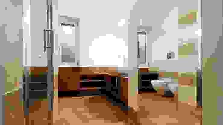Archifacturing ห้องน้ำ ไม้ Brown