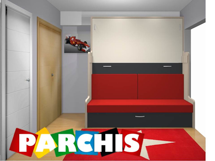 Modern Living Room by Muebles Parchis. Dormitorios Juveniles. Modern