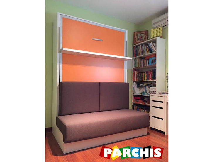 Modern Media Room by Muebles Parchis. Dormitorios Juveniles. Modern