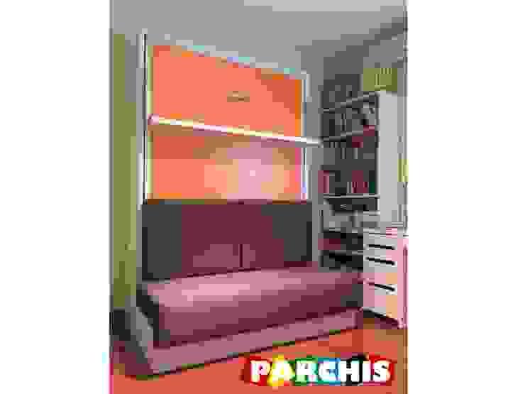 MONTAJES REALIZADOS POR MUEBLES PARCHIS. MUEBLES JUVENILES Muebles Parchis. Dormitorios Juveniles. Salas multimedia de estilo moderno