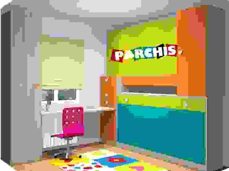 MONTAJES REALIZADOS POR MUEBLES PARCHIS. MUEBLES JUVENILES Muebles Parchis. Dormitorios Juveniles. Estudios y despachos de estilo moderno