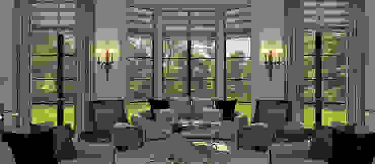 Kerim Çarmıklı İç Mimarlık – M.P. Residence:  tarz Oturma Odası,