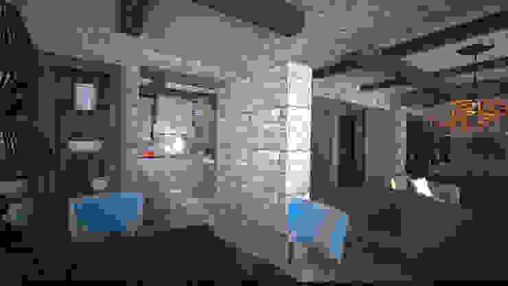 Bodrum / Yalıkavak villa projesi 5K MİMARLIK Akdeniz Ahşap Ahşap rengi