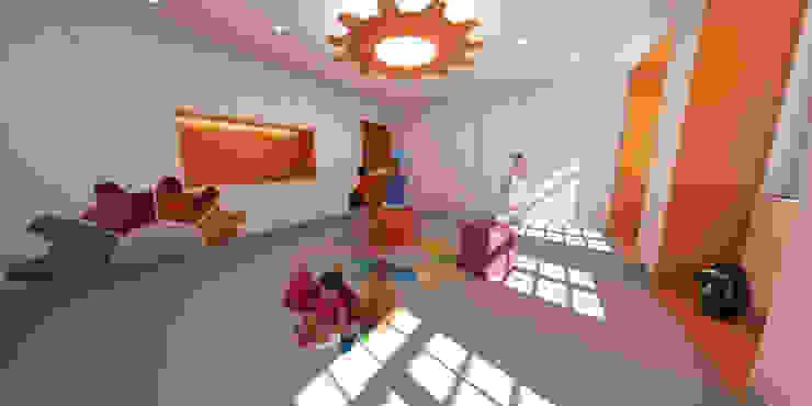 Sala de Actividades por filipabettencourt Moderno
