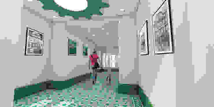 Hall de Entrada por filipabettencourt Moderno