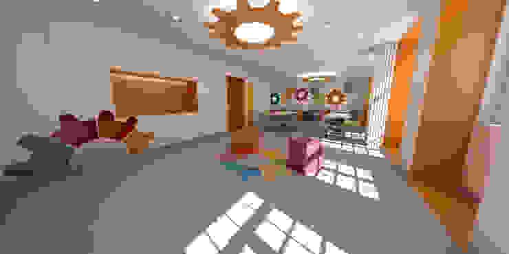 Sala de Actividades e Refeitório por filipabettencourt Moderno