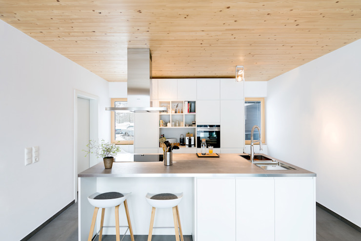 Moderne keukens van sebastian kolm architekturfotografie Modern Hout Hout