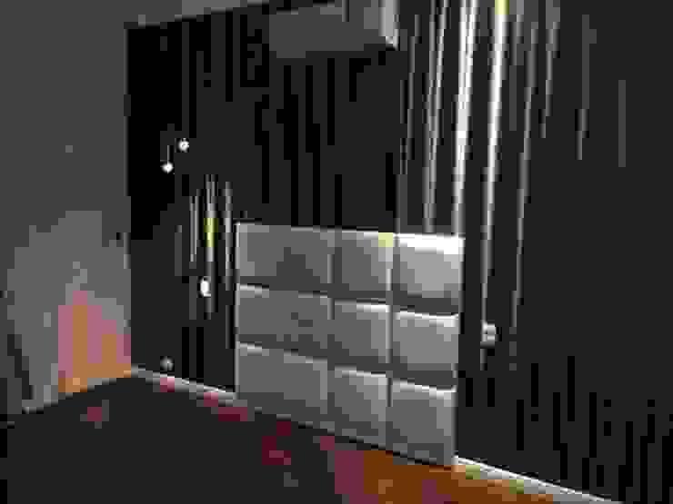 Samira Prado Moda Casa BedroomBeds & headboards Synthetic White