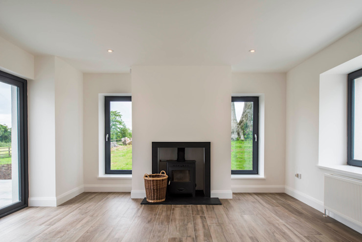 Randalstown Extension & Renovation: modern  by slemish design studio architects, Modern