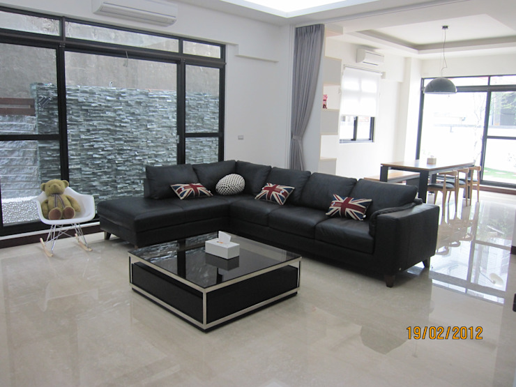 勝暉建築工程行 Modern living room