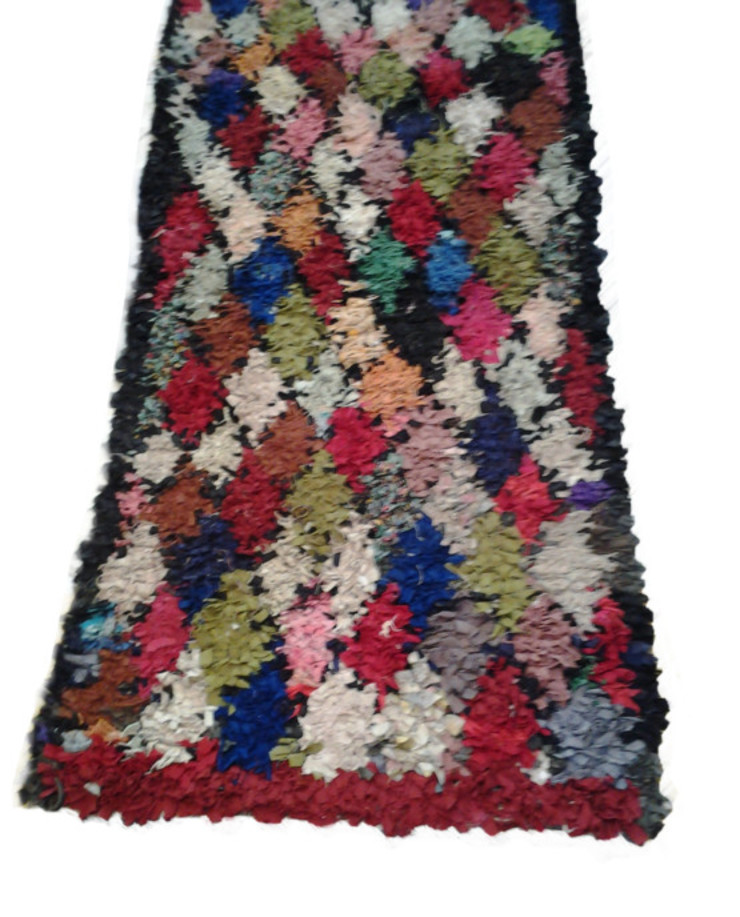 HANDMADE BERBER BOUCHEROUITE RUG: country  by BOHOZOO,Country